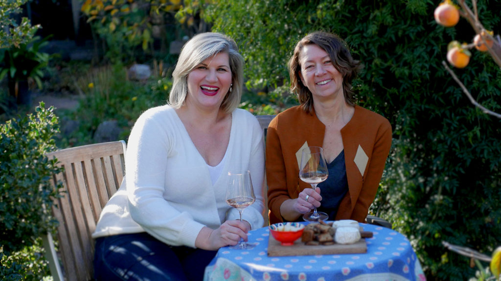 Amanda Carder and AnnMarie Miller of Reciprocity Wines