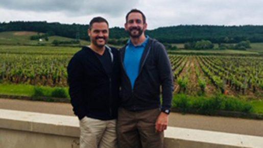 Majuscule Wine Owners Jeff & Greg Meet our incredible winery partners